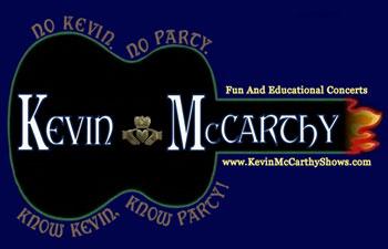 Kevin McCarthy Shows Logo